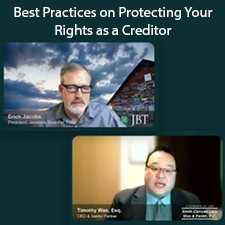 Best Practices on Protecting Your rights as a Creditor